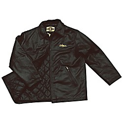 Zildjian Embroidered Logo Leather Jacket (T4133)