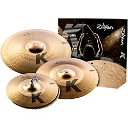 Zildjian K Custom Hybrid Box Set (KCH390)