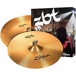 Zildjian ZBT China Crash Cymbal Pack (ZBTE2P)