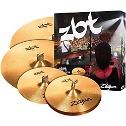 "Zildjian ZBT Pro Cymbal Pack with Free 14"" ZBT Crash (ZBTC4P-ALT)"