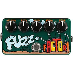 Zvex Hand-Painted Fuzz Factory Guitar Effects Pedal (USED004000 FF-PAINTED)