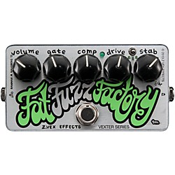 Zvex Vexter Fat Fuzz Factory Guitar Effects Pedal (USED004000 VFFF)