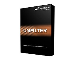 Zynaptiq Unfilter Software Download (1063-11)