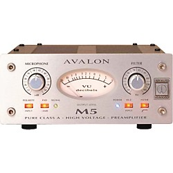avalon M5 Mono Pure Class A Microphone Preamp (USED004000 M5)