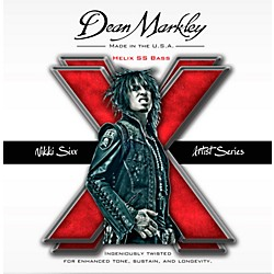 dean markley Nikki Sixx Helix HD SS Bass Guitar Strings (2620)