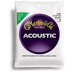 Martin-M500-12-StGring-Phosphor-Bronze-Extra-Light-Acoustic-Guitar-Strings-Standard