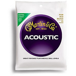 Martin-M180-12-String-80-20-Bronze-Extra-Light-Acoustic-Guitar-Strings-Standard