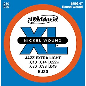 D-Addario-EJ20-Nickel-Wound-Jazz-Extra-Light-Electric-Guitar-Strings-Standard