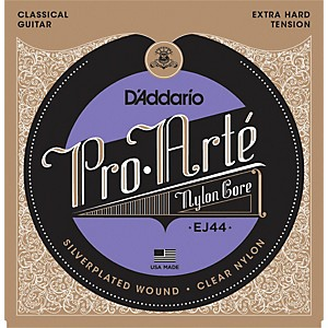 D-Addario-EJ44-Pro-Arte-SP-Extra-Hard-Classical-Guitar-Strings-Set-Standard