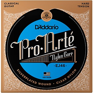 D-Addario-EJ46-Pro-Arte-Hard-Tension-Classical-Guitar-Strings-Standard