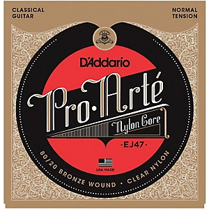 D-Addario-EJ47-Pro-Arte-80-20-Bronze-Normal-Tension-Classical-Guitar-Strings-Standard