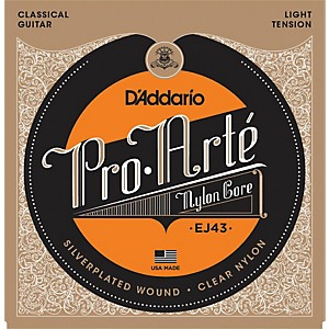 D-Addario-EJ43-Pro-Arte-Light-Tension-Classical-Guitar-Strings-Standard