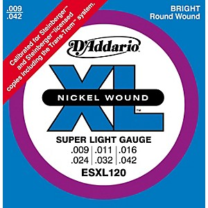 D-Addario-ESXL120-Nickel-Double-Ball-End-Super-Light-Electric-Guitar-Strings-Standard