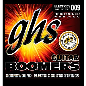 GHS-T-GBXL-Tremolo-Boomer-Extra-Light-Electric-Guitar-Strings-Standard