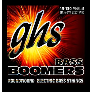 GHS-5-5M-DYB-5-string-Bass-Strings-with-Low-B-Standard