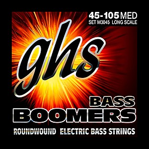 GHS-M3045-Bass-Boomers-Medium-Electric-Bass-Strings-Standard