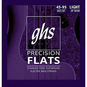 GHS-Stainless-Steel-Precision-Flatwound-Electric-Bass-Strings-Standard