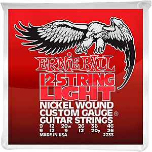 Ernie-Ball-2233-Nickel-12-String-Light-Electric-Guitar-Strings-Standard