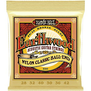 Ernie-Ball-2069-Earthwood-80-20-Bronze-Folk-Nylon-Ball-End-Acoustic-Guitar-Strings-Standard