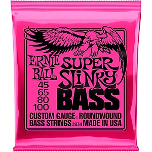 Ernie-Ball-2834-Super-Slinky-Roundwound-Bass-Strings-Standard