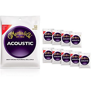 Martin-M140-Light-Acoustic-Guitar-Strings-10-Pack-Standard