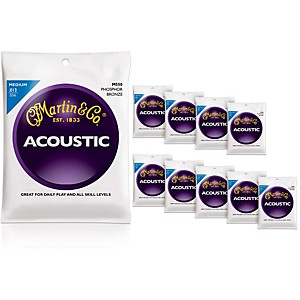 Martin-M550-Medium-Phosphor-Bronze-Acoustic-Guitar-Strings-10-Pack-Standard