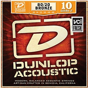 Dunlop-Extra-Light-80-20-Bronze-Acoustic-Guitar-Strings-Standard