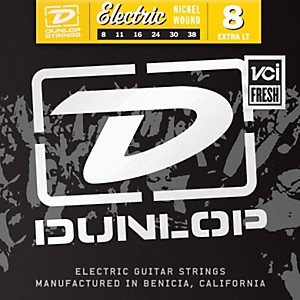 Dunlop-Nickel-Plated-Steel-Electric-Guitar-Strings---Extra-Light-Standard