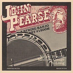 John-Pearse-1800M-Medium-Banjo-Strings-Standard