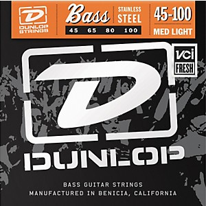 Dunlop-Medium-Light-Stainless-Steel-Bass-Strings-Standard