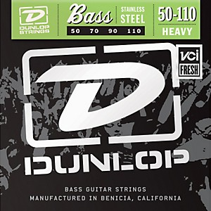 Dunlop-Stainless-Steel-Bass-Strings---Heavy-Standard