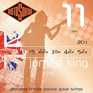 Rotosound-Jumbo-King-Light-Phosphor-Bronze-Acoustic-Guitar-Strings-Standard
