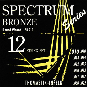 Thomastik-SB210-Spectrum-Bronze-Extra-Light-12-String-Acoustic-Guitar-Strings-Standard