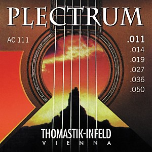 Thomastik-AC111-Plectrum-Bronze-Acoustic-Guitar-Strings---Light-Standard
