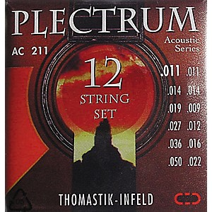 Thomastik-AC211-Plectrum-Bronze-Light-Acoustic-12-String-Guitar-Strings-Standard