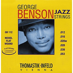 Thomastik-GB112-Medium-Light-George-Benson-Custom-Flatwound-Guitar-Strings-Standard