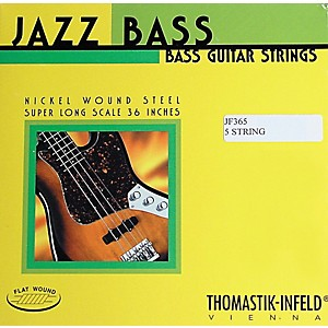 Thomastik-JF365-Jazz-Flatwound-Long-Scale-5-String-Bass-Strings-Standard