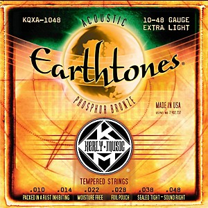 Kerly-Music-Earthtones-Phosphor-Bronze-Acoustic-Guitar-Strings---Extra-Light-Standard