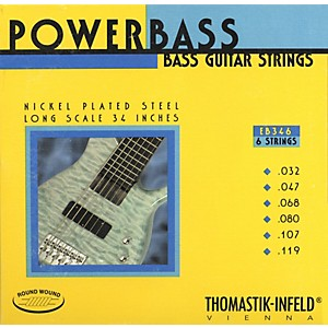 Thomastik-EB346-Medium-Light-Power-Bass-Roundwound-6-String-Bass-Strings-Standard