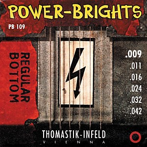 Thomastik-PB109-Power-Brights-Bottom-Light-Guitar-Strings-Standard