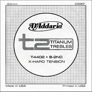 D-Addario-T4402-T2-Titanium-X-Hard-Single-Classical-Guitar-String-Standard