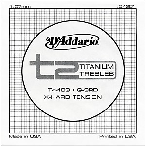 D-Addario-T4403-T2-Titanium-X-Hard-Single-String-Standard