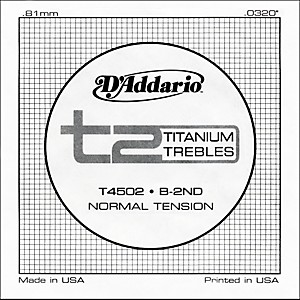 D-Addario-T4502-T2-Titanium-Normal-Single-String-Standard