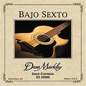 DEAN-MARKLEY-2096-Bajo-Sexto-SX-12-String-Acoustic-Guitar-Strings-Standard