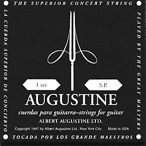 Albert-Augustine-Silver-Black-Label-Classical-Guitar-Strings-Standard