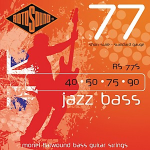 Rotosound-RS77S-Short-Scale-Jazz-Bass-Monel-Flat-Wound-Strings-Standard