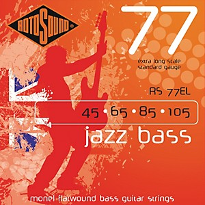 Rotosound-RS77EL-Jazz-Bass-Monel-Flat-Wound-Strings-Standard