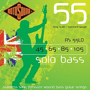 Rotosound-RS55LD-Solo-Bass-Stainless-Steel-Strings-Standard