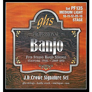 GHS-J-D--Crowe-Signature-5-String-Banjo-Medium-Light-Strings-Standard
