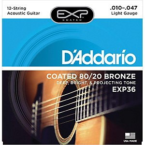 D-Addario-EXP36-Coated-80-20-Bronze-Light-12-String-Acoustic-Guitar-Strings-Standard
